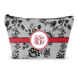 Black Lace Makeup Bags (Personalized)