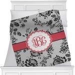 Black Lace Minky Blanket (Personalized)