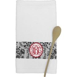 Black Lace Kitchen Towel (Personalized)