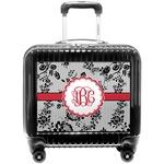 Black Lace Pilot / Flight Suitcase (Personalized)