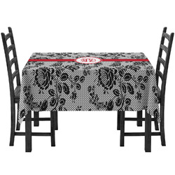 Black Lace Tablecloth (Personalized)
