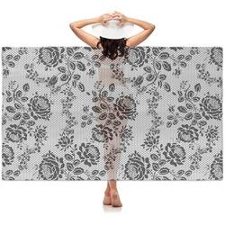 Black Lace Sheer Sarong (Personalized)
