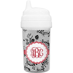 Black Lace Sippy Cup (Personalized)