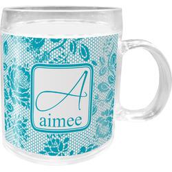 Lace Acrylic Kids Mug (Personalized)