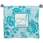 Lace Full Print Bath Towel (Personalized)