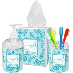 Lace Bathroom Accessories Set (Personalized)