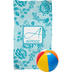 Lace Beach Towel (Personalized)