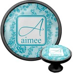 Lace Cabinet Knob (Black) (Personalized)