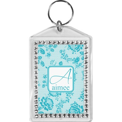 Lace Bling Keychain (Personalized)