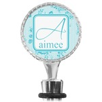 Lace Wine Bottle Stopper (Personalized)