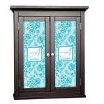 Lace Cabinet Decal - Custom Size (Personalized)