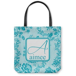 Lace Canvas Tote Bag (Personalized)