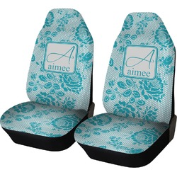 Lace Car Seat Covers (Set of Two) (Personalized)