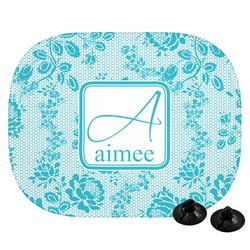 Lace Car Side Window Sun Shade (Personalized)