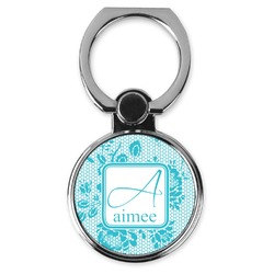 Lace Cell Phone Ring Stand & Holder (Personalized)
