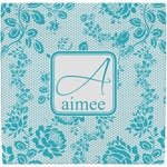 Lace Ceramic Tile Hot Pad (Personalized)