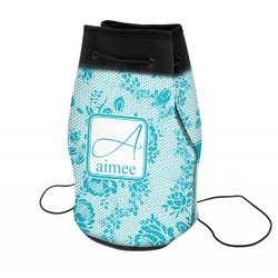 Lace Neoprene Drawstring Backpack (Personalized)