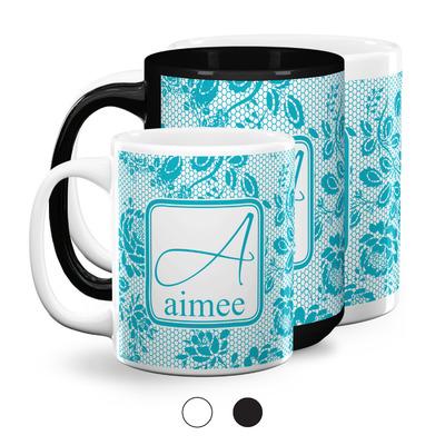 Lace Coffee Mugs (Personalized)