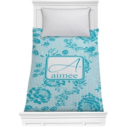Lace Comforter - Twin (Personalized)