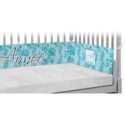 Lace Crib Bumper Pads (Personalized)