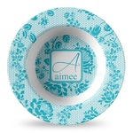 Lace Plastic Bowl - Microwave Safe - Composite Polymer (Personalized)