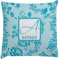 Lace Decorative Pillow Case (Personalized)