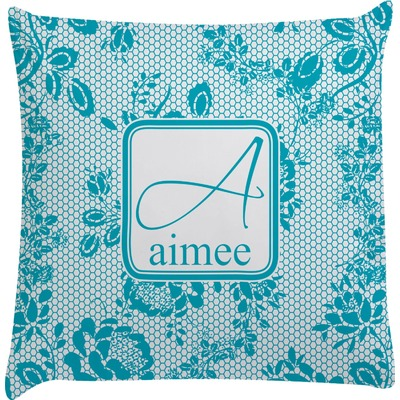Lace Decorative Pillow Case (Personalized)
