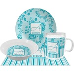 Lace Dinner Set - 4 Pc (Personalized)