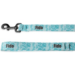 Lace Deluxe Dog Leash - 4 ft (Personalized)