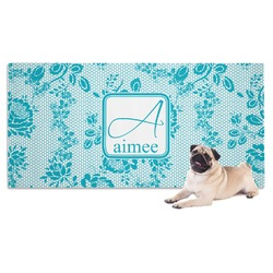 Lace Dog Towel (Personalized)