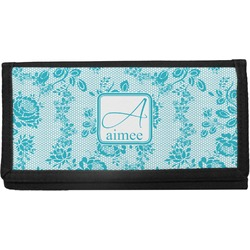 Lace Canvas Checkbook Cover (Personalized)
