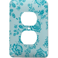 Lace Electric Outlet Plate (Personalized)