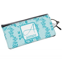 Lace Genuine Leather Eyeglass Case (Personalized)