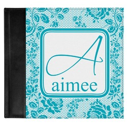 Lace Genuine Leather Baby Memory Book (Personalized)