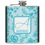 Lace Genuine Leather Flask (Personalized)