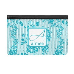 Lace Genuine Leather ID & Card Wallet - Slim Style (Personalized)
