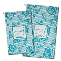 Lace Golf Towel - Full Print w/ Name and Initial