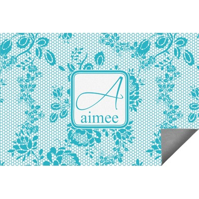 Lace Indoor / Outdoor Rug - 4'x6' (Personalized)