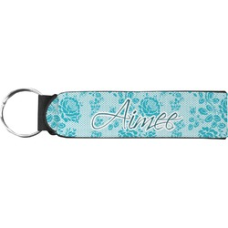 Lace Neoprene Keychain Fob (Personalized)