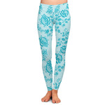 Lace Ladies Leggings (Personalized)