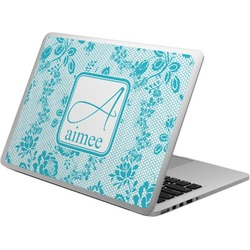 Lace Laptop Skin - Custom Sized (Personalized)
