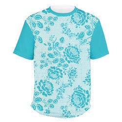 Lace Men's Crew T-Shirt (Personalized)