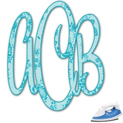 Lace Monogram Iron On Transfer (Personalized)