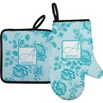 Lace Oven Mitt & Pot Holder (Personalized)