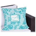 Lace Outdoor Pillow (Personalized)