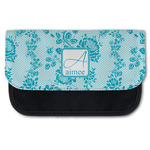 Lace Canvas Pencil Case w/ Name and Initial