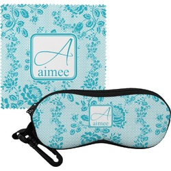 Lace Eyeglass Case & Cloth (Personalized)