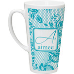 Lace Latte Mug (Personalized)