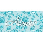 Lace Front License Plate (Personalized)