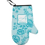 Lace Right Oven Mitt (Personalized)